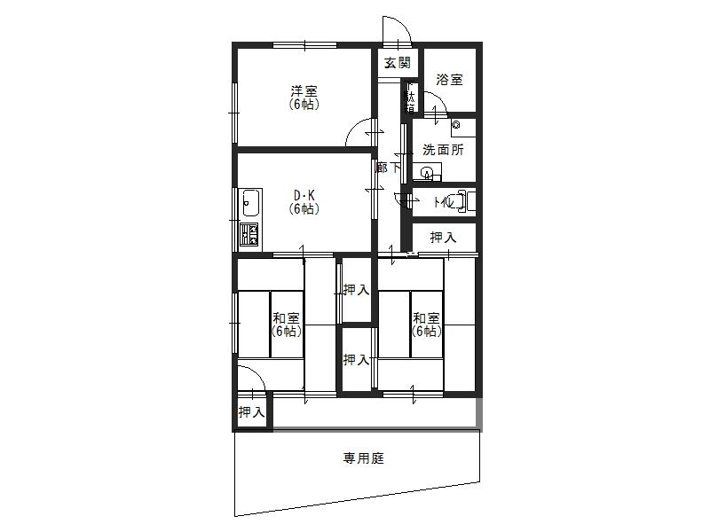 森や住宅1号101号室